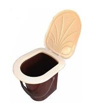 Відро-туалет з кришкою