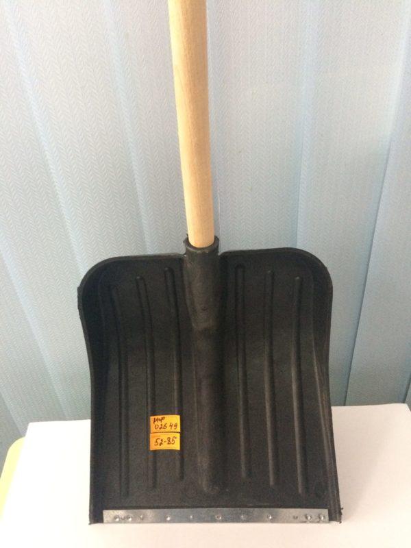 Лопата для снігу пластмасова (вузька)