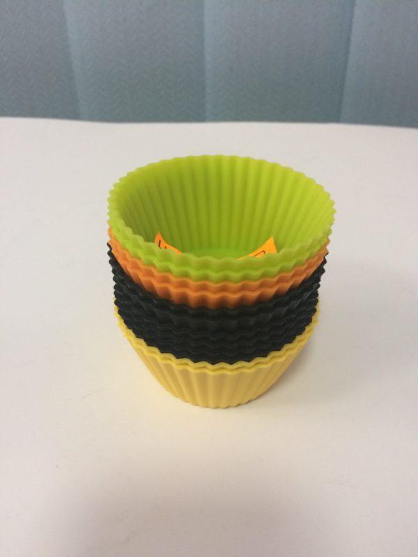 Форма силіконова для кексів (набір 12 шт.)