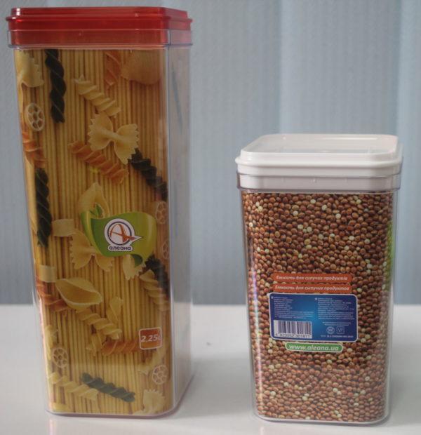 Ємністить для сипучих продуктів 2,25 л.