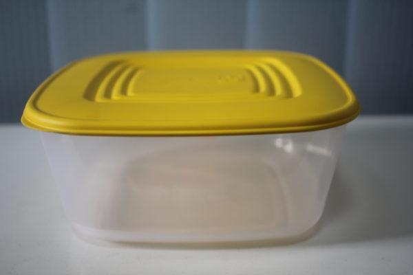 Контейнер для харчових продуктів квадратний