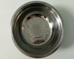 Миска столова (залізна, кругла, діаметр 24,9 см.)