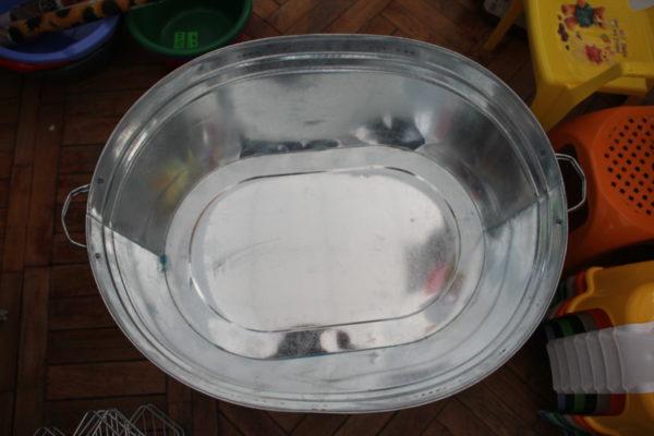 Ванна оцинкована овальна (100 л.)